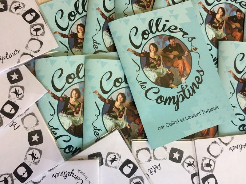 CD Colliers de comptines